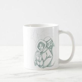 出生のマグ コーヒーマグカップ