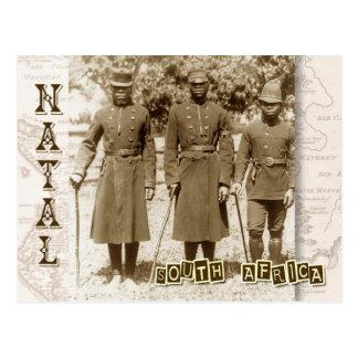 出生の南アフリカ共和国、警官 ポストカード