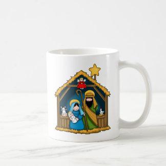 出生の馬小屋場面 コーヒーマグカップ