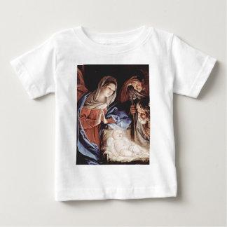 出生場面 ベビーTシャツ