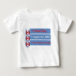 出生日、威厳があるな第3 2009年、ノバスコシア、カナダ ベビーTシャツ