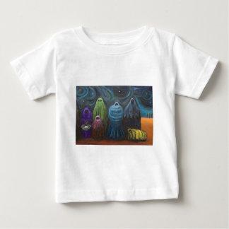 出生(キリスト教のテーマの超現実主義) ベビーTシャツ