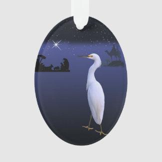 出生、賢者および白鷺の鳥 オーナメント