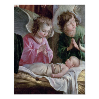 出生、Buxtehudeの祭壇から、1400-10年 ポスター