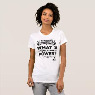 出産の軍事大国(決め付けられる) Tシャツ