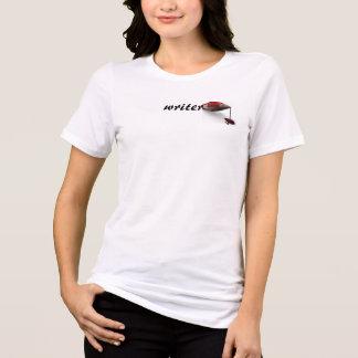 出血の作家のTシャツ Tシャツ
