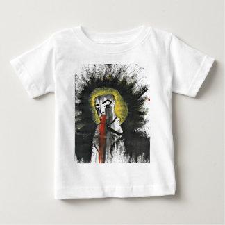 出血の星 ベビーTシャツ