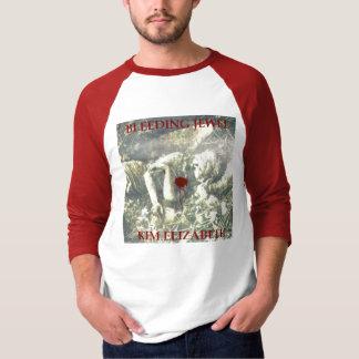 """""""出血宝石""""の金エリザベスのTシャツ Tシャツ"""