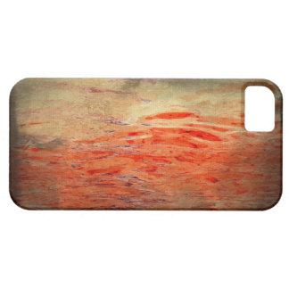 出血水抽象芸術のiPhoneの場合 iPhone SE/5/5s ケース