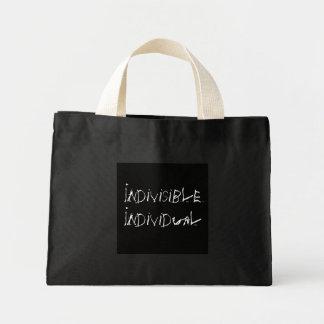 分割不可能な個人 ミニトートバッグ