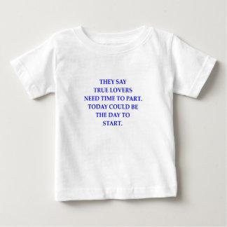 分割 ベビーTシャツ