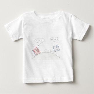 分子対分母 ベビーTシャツ