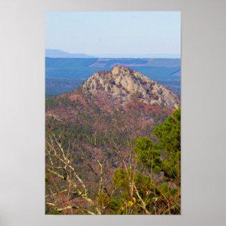 分岐した山、アーカンソー ポスター