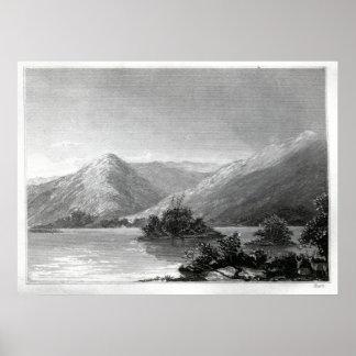 分岐した湖の場面 ポスター