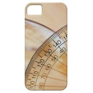 分度器のクローズアップ iPhone SE/5/5s ケース