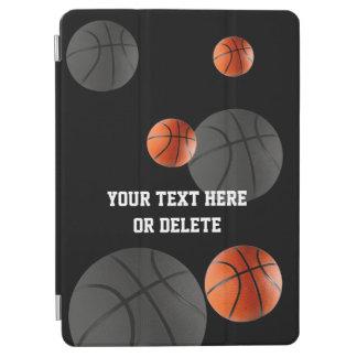 分散させたバスケットボール|のスポーツのカッコいいのギフト iPad AIR カバー