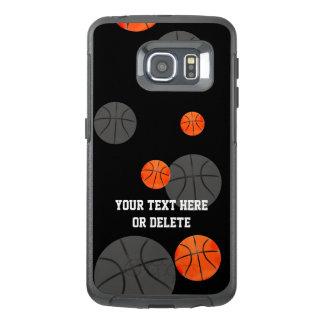 分散させたバスケットボール|のスポーツのギフト オッターボックスSamsung GALAXY S6 EDGEケース