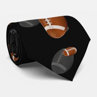 分散させたラグビー|のアメリカン・フットボール|のスポーツのギフト カスタムネクタイ