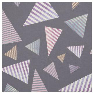 分散させた三角形の生地 ファブリック