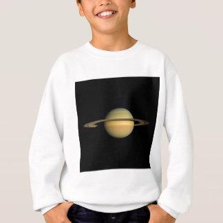 分点(太陽系)の~~の間の惑星土星 スウェットシャツ