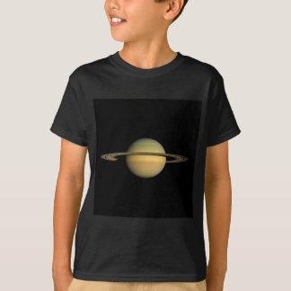 分点(太陽系)の~~の間の惑星土星 Tシャツ