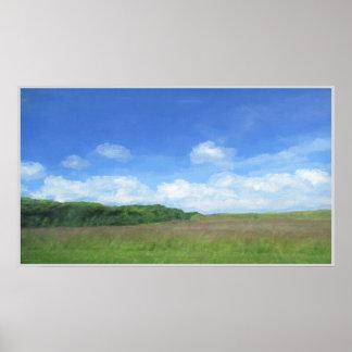 分野および空 ポスター