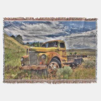 分野で断念される古いトラック スローブランケット