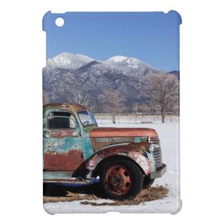分野に坐る古いトラック iPad MINIケース