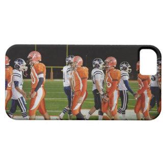 分野のアメリカン・フットボールのチームの会合、 iPhone SE/5/5s ケース