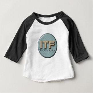 分野のロゴ ベビーTシャツ