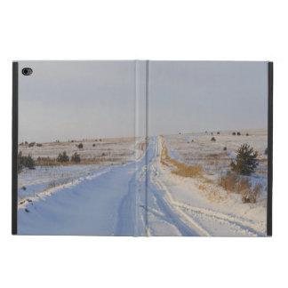 分野の冬の道 POWIS iPad AIR 2 ケース
