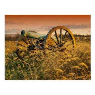 分野の古い大砲 ポストカード