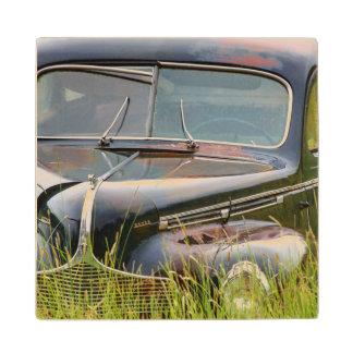 分野の古い断念された車 ウッドコースター
