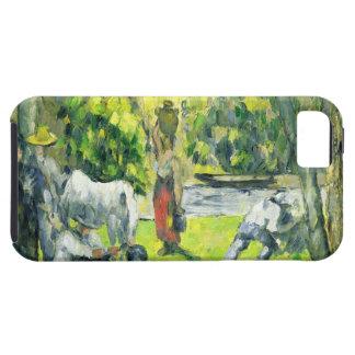 分野の生命、c.1875 (キャンバスの油) iPhone SE/5/5s ケース