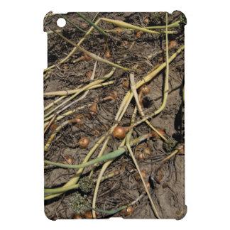 分野の臭いタマネギの穀物 iPad MINIカバー