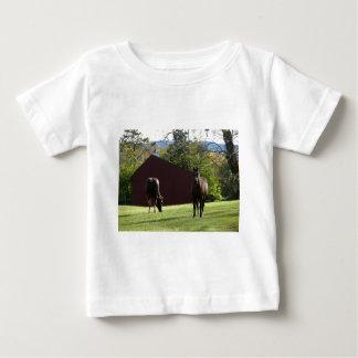 分野の馬 ベビーTシャツ