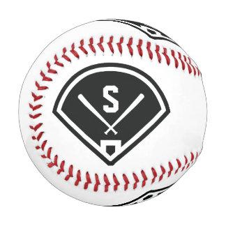 分野を遊ぶモノグラム 野球ボール