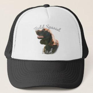 分野スパニエル犬のパパ2 キャップ