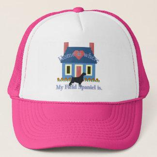 分野スパニエル犬の家はあります キャップ