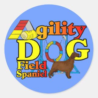 分野スパニエル犬の敏捷 ラウンドシール