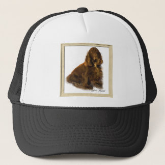 分野スパニエル犬の芸術のギフト キャップ