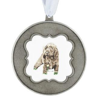 分野スパニエル犬 オーナメント