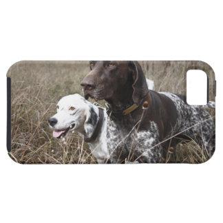分野、ヒューストン、テキサス州、米国の2匹の犬 iPhone SE/5/5s ケース