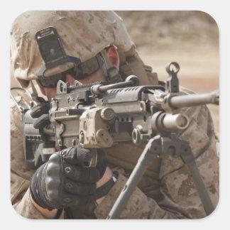 分隊の自動火器の射撃手はsecuriを提供します スクエアシール