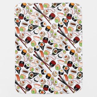 分類された寿司のベビーブランケット ベビー ブランケット