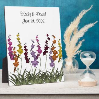 分類された花の結婚 フォトプラーク