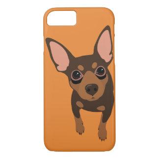 分Pin (チョコレート) Smartphone 7のプラスのiPhoneの場合 iPhone 8/7ケース