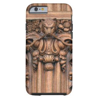 切り分けられた木製のiPhone 6/6Sの堅い場合 ケース