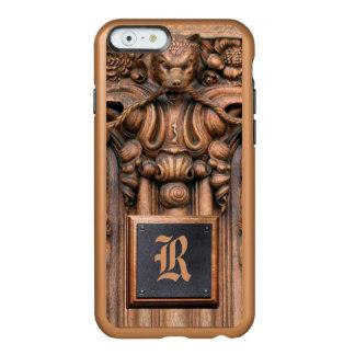 切り分けられた木製のiPhone 6/6S Incipioの輝やきの場合 Incipio Feather Shine iPhone 6ケース