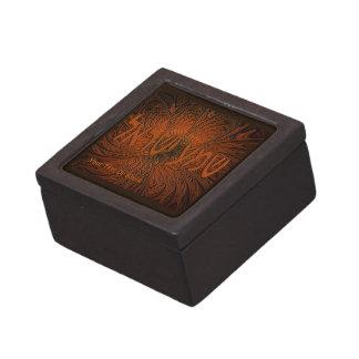 切り分けられた木製のShema Yisrael ギフトボックス